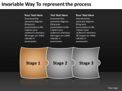 Invariable Way To Represent The Process Workflow Management PowerPoint Templates
