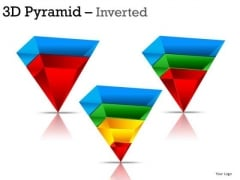 Inverted Pyramids PowerPoint Slides And Ppt Diagrams