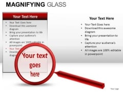 Investigation Glass PowerPoint Slides And Ppt Diagram Templates