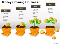 Investment Money Growing On Trees PowerPoint Slides And Ppt Diagram Templates