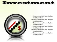 Investment Success PowerPoint Presentation Slides Cc