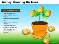 Investment With Good Returns Dollar Growth PowerPoint Templates Ppt Slides