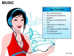 Ipod Music PowerPoint Slides And Ppt Diagram Templates
