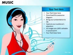 Ipod Music PowerPoint Templates