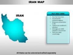 Iran PowerPoint Maps
