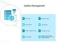 Jenkins Overview Presentation Jenkins Management Ppt Pictures PDF