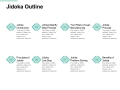 Jidoka Outline Problem Solving Ppt PowerPoint Presentation Infographic Template Inspiration