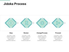 Jidoka Process Change Process Ppt PowerPoint Presentation Outline Portfolio