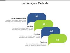 Job Analysis Methods Ppt PowerPoint Presentation Professional Icons Cpb