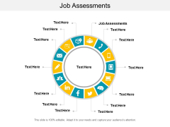 Job Assessments Ppt PowerPoint Presentation Infographic Template Deck Cpb