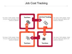 Job Cost Tracking Ppt PowerPoint Presentation Portfolio Ideas Cpb Pdf