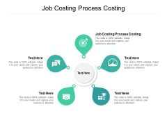 Job Costing Process Costing Ppt PowerPoint Presentation File Model Cpb