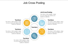 Job Cross Posting Ppt PowerPoint Presentation Outline Shapes Cpb