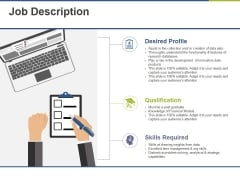 Job Description Ppt PowerPoint Presentation Gallery Samples