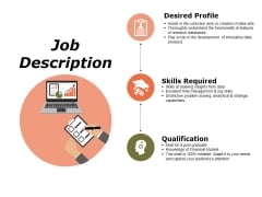 Job Description Ppt PowerPoint Presentation Information