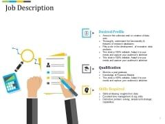 Job Description Ppt PowerPoint Presentation Inspiration Designs Download