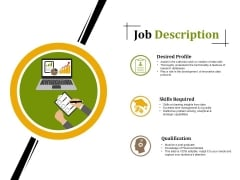 Job Description Ppt PowerPoint Presentation Inspiration Slides
