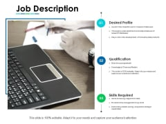 Job Description Ppt PowerPoint Presentation Portfolio Deck