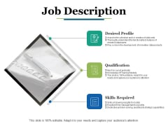 Job Description Ppt PowerPoint Presentation Portfolio Grid