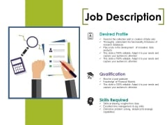 Job Description Ppt PowerPoint Presentation Styles Design Ideas