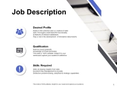 Job Description Ppt PowerPoint Presentation Summary Clipart Images