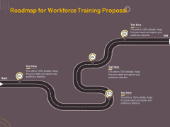 Job Driven Training Roadmap For Workforce Training Proposal Ppt Infographic Template Images PDF