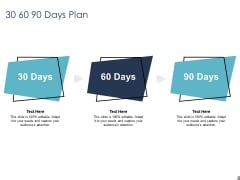 Job Estimate 30 60 90 Days Plan Ppt Infographic Template Backgrounds PDF