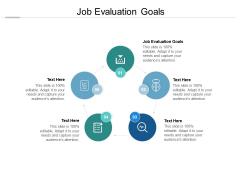 Job Evaluation Goals Ppt PowerPoint Presentation Model Graphics Pictures Cpb Pdf