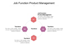 Job Function Product Management Ppt PowerPoint Presentation Slides Tips Cpb