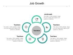 Job Growth Ppt PowerPoint Presentation Model Designs Cpb Pdf