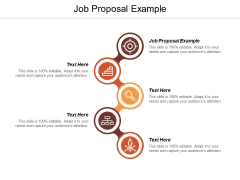 Job Proposal Example Ppt PowerPoint Presentation Model Samples Cpb