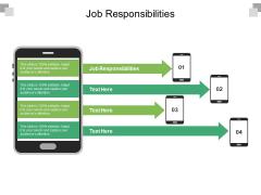 Job Responsibilities Ppt PowerPoint Presentation Infographics Samples Cpb Pdf