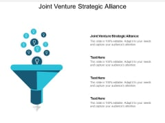 Joint Venture Strategic Alliance Ppt PowerPoint Presentation Show Master Slide Cpb