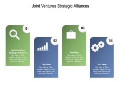 Joint Ventures Strategic Alliances Ppt PowerPoint Presentation Outline Master Slide Cpb Pdf