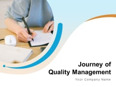Journey Of Quality Management Optimization Checklist Ppt PowerPoint Presentation Complete Deck