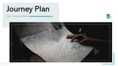 Journey Plan Illustrating Travel Ppt PowerPoint Presentation Complete Deck With Slides