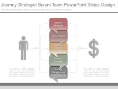 Journey Strategist Scrum Team Powerpoint Slides Design