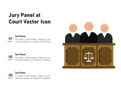 Jury Panel At Court Vector Icon Ppt PowerPoint Presentation Styles Microsoft PDF