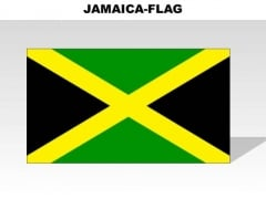 Jamaica powerpoint templates slides and graphics jamaica country powerpoint flags toneelgroepblik Gallery