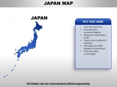 Japan PowerPoint Maps