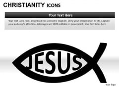 Jesus Fish PowerPoint Slides And Ppt Presentation Templates