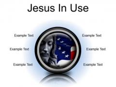 Jesus In Usa Religion PowerPoint Presentation Slides Cc