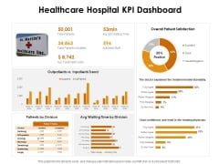 KPI Dashboards Per Industry Healthcare Hospital KPI Dashboard Ppt PowerPoint Presentation Show Infographics PDF