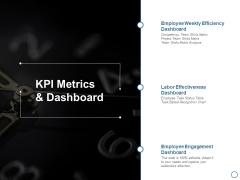 KPI Metrics And Dashboard Ppt PowerPoint Presentation Inspiration Format Ideas