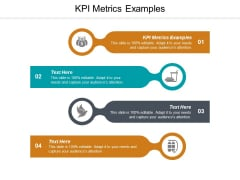 KPI Metrics Examples Ppt PowerPoint Presentation Outline Show Cpb