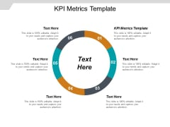KPI Metrics Template Ppt PowerPoint Presentation Pictures Introduction Cpb