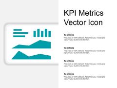 KPI Metrics Vector Icon Ppt PowerPoint Presentation Layouts Slide