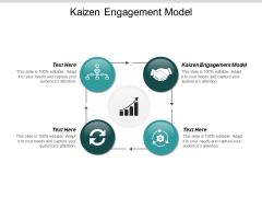 Kaizen Engagement Model Ppt Powerpoint Presentation Background Cpb