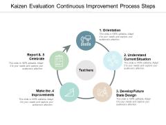 Kaizen Evaluation Continuous Improvement Process Steps Ppt Powerpoint Presentation Show Inspiration