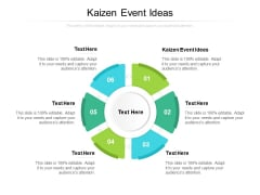 Kaizen Event Ideas Ppt PowerPoint Presentation Summary Cpb